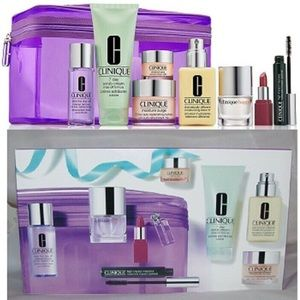 New in box-Best of Clinique 8pc gift set w/bag